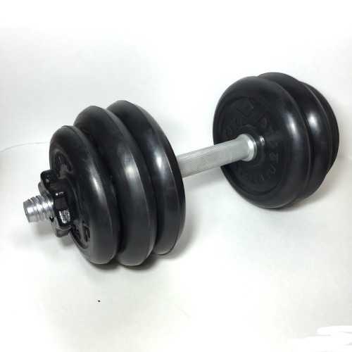 Гантель обрезиненная 15 кг