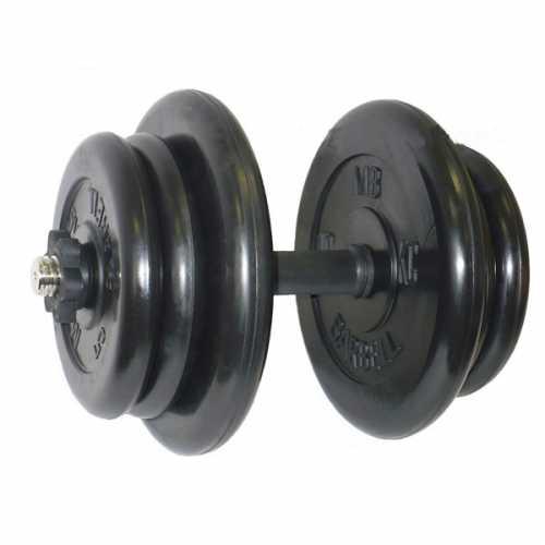 Гантель обрезиненная 42,5 кг