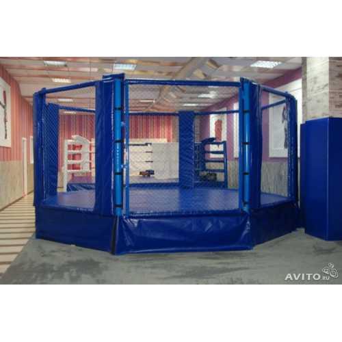 Боксерский ринг восьмиугольный d 5 м