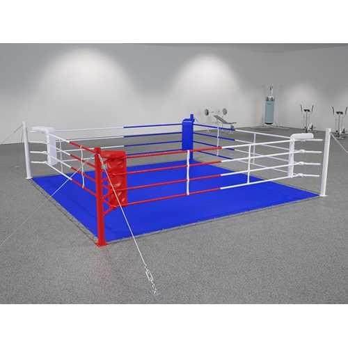 Ринг боксерский на растяжках 5*5м.