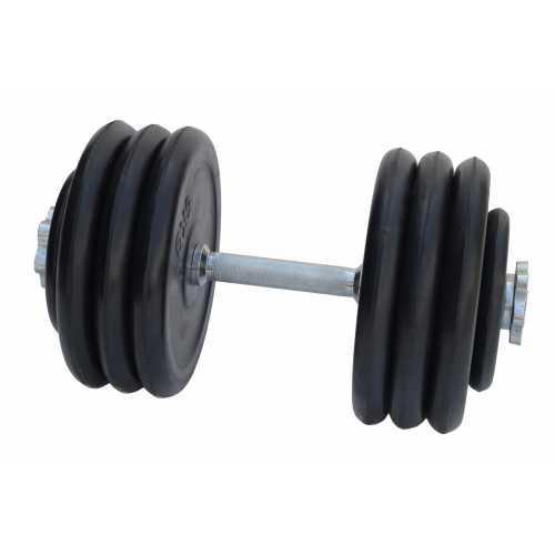 Гантель обрезиненная 35 кг