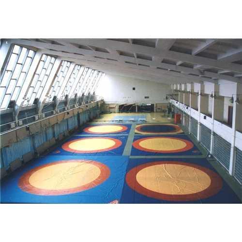 Борцовское покрытие (с кругами, с люверсами)