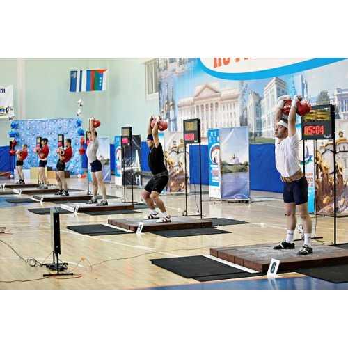 Помост для гиревого спорта 1.5х1.5х0.1м
