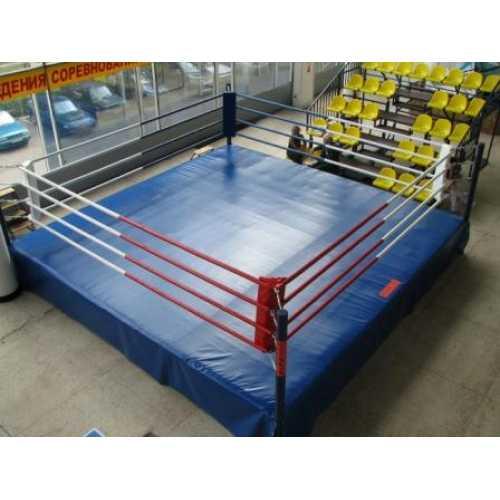 Ринг боксерский на помосте 7*7м. V-1м