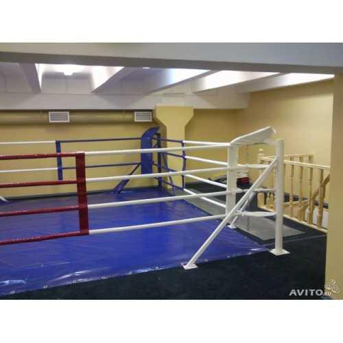 Ринг боксерский на упорах 6*6м